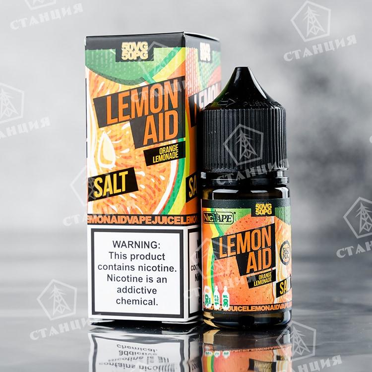 Lemon Aid Salt - Orange 30 мл