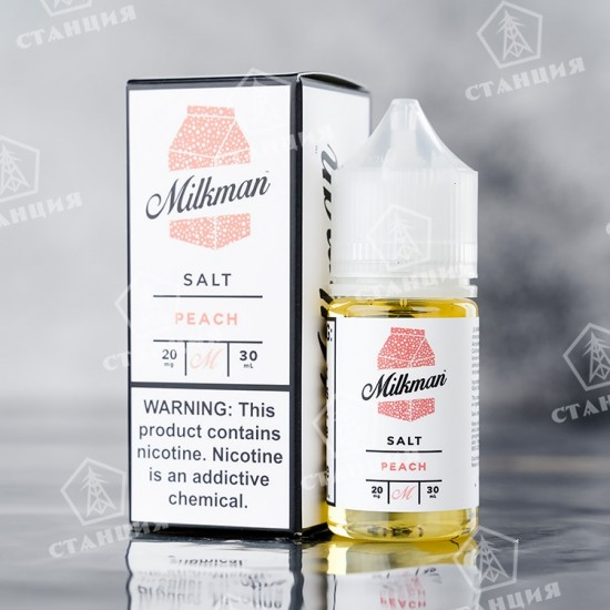 Milkman Salt - Peach 30 мл