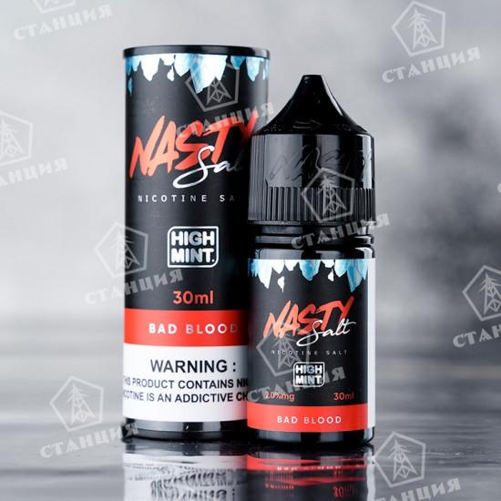 Nasty Juice Salt - Bad Blood High Mint 30 мл