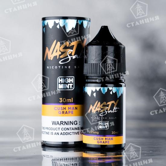 Nasty Juice Salt - Cush Man Grape High Mint 30 мл
