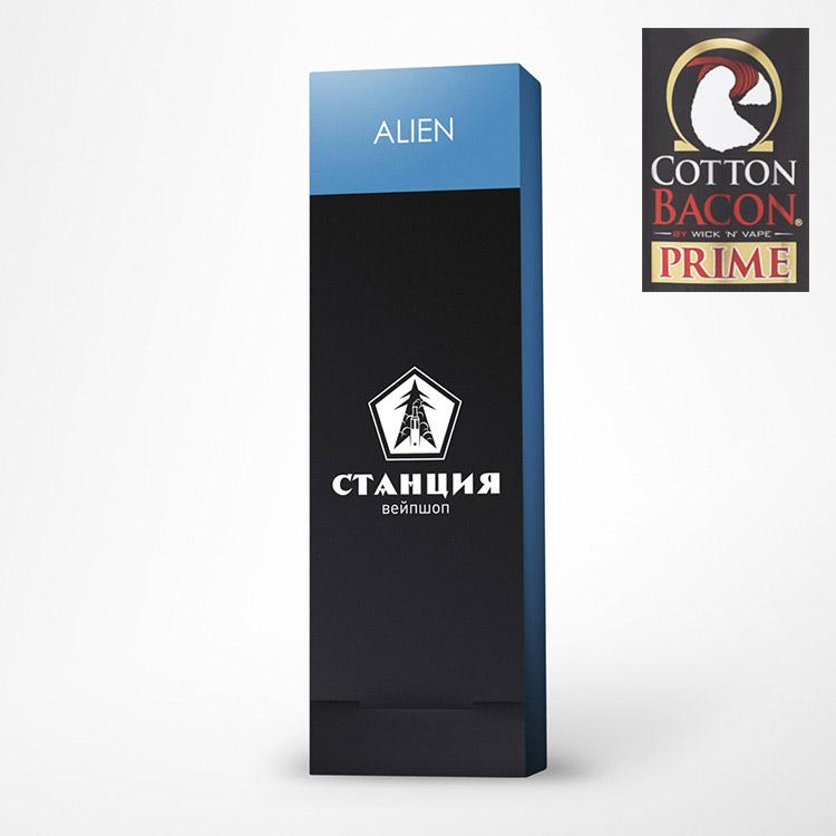 Alien Clapton - 0.12 Ω (ручная намотка)
