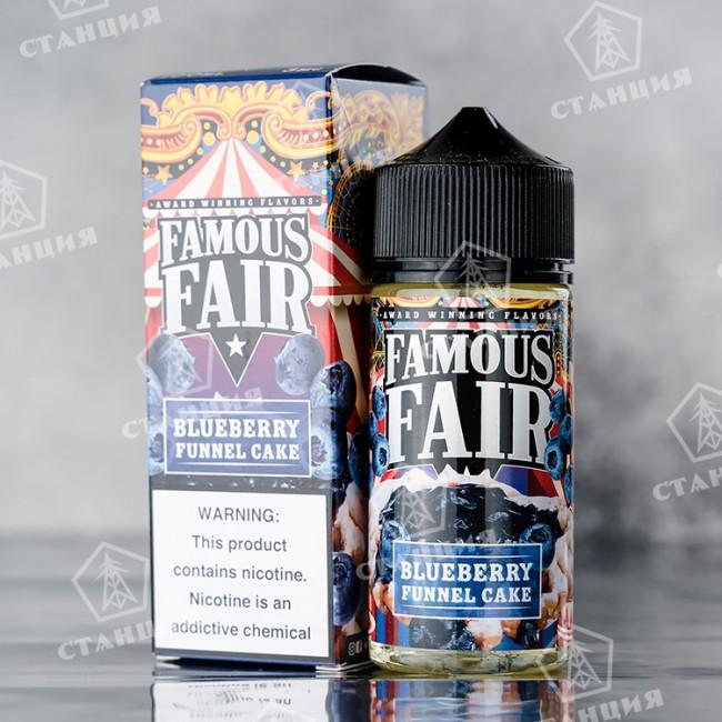 Famous Fair - Blueberry Funnel Cake 100 мл