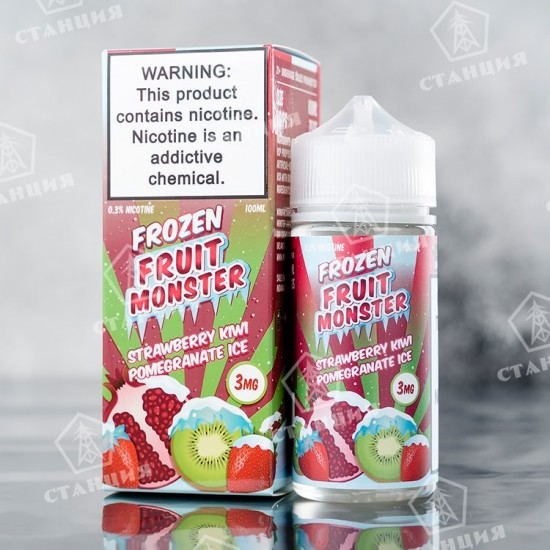 Fruit Monster Frozen - Strawberry Kiwi Pomegranate 100 мл