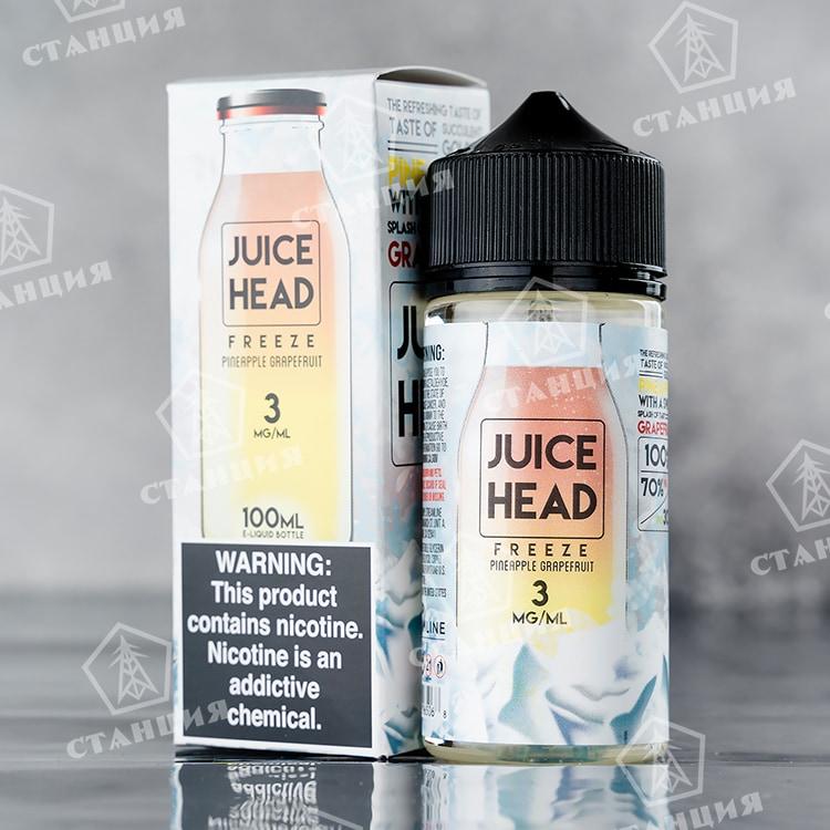 Juice Head FREEZE - Pineapple Grapefruit 100 мл