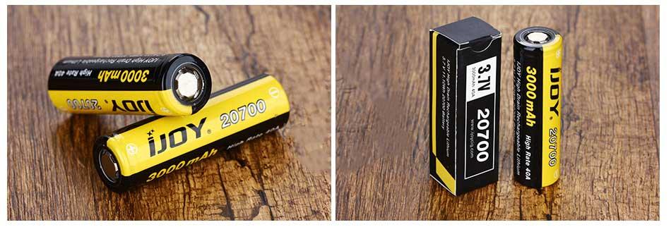 аккумулятроные батареи 20700